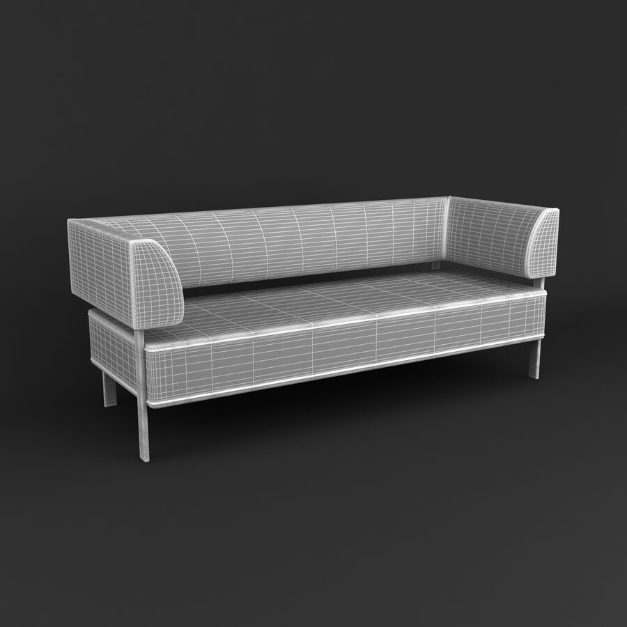 Collection de meubles royalty-free 3d model - Preview no. 185