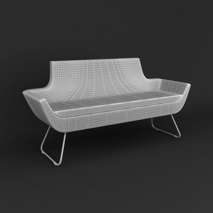 Collection de meubles royalty-free 3d model - Preview no. 191