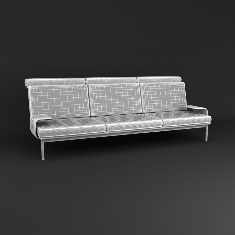 Collection de meubles royalty-free 3d model - Preview no. 192