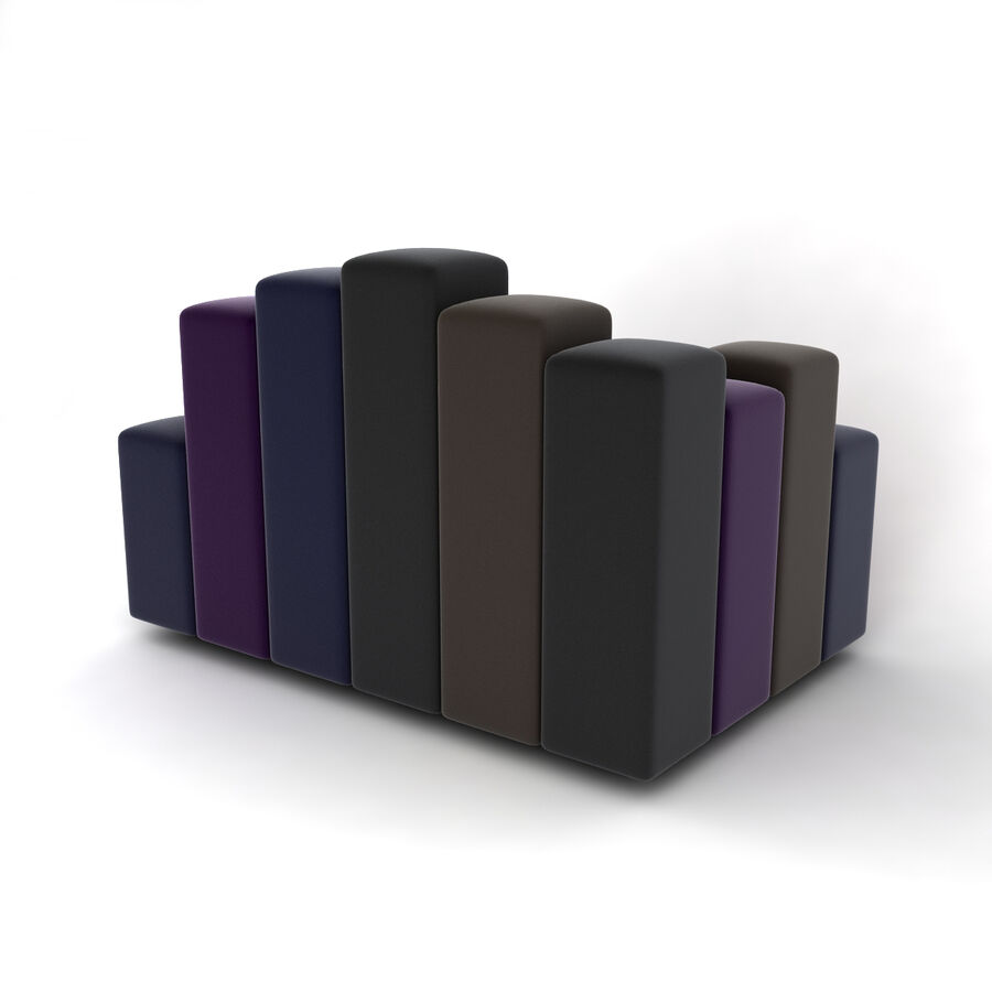 Collection de meubles royalty-free 3d model - Preview no. 22