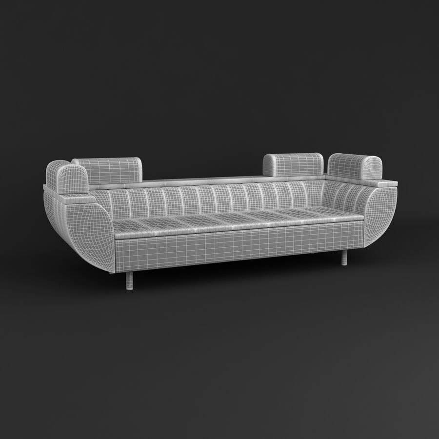 Collection de meubles royalty-free 3d model - Preview no. 188