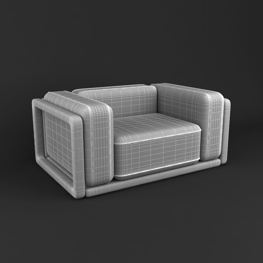 Collection de meubles royalty-free 3d model - Preview no. 39