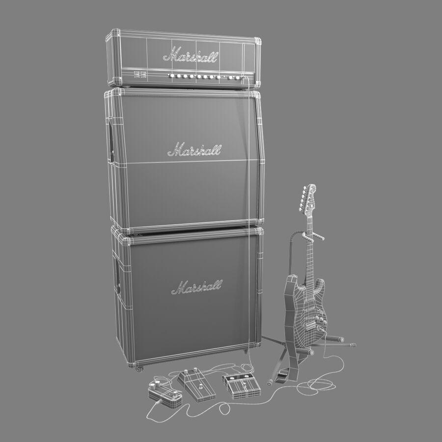 Instrumentsamling royalty-free 3d model - Preview no. 25