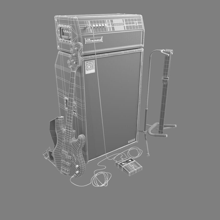 Instrumentsamling royalty-free 3d model - Preview no. 5
