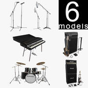 Instruments Collection 3d model