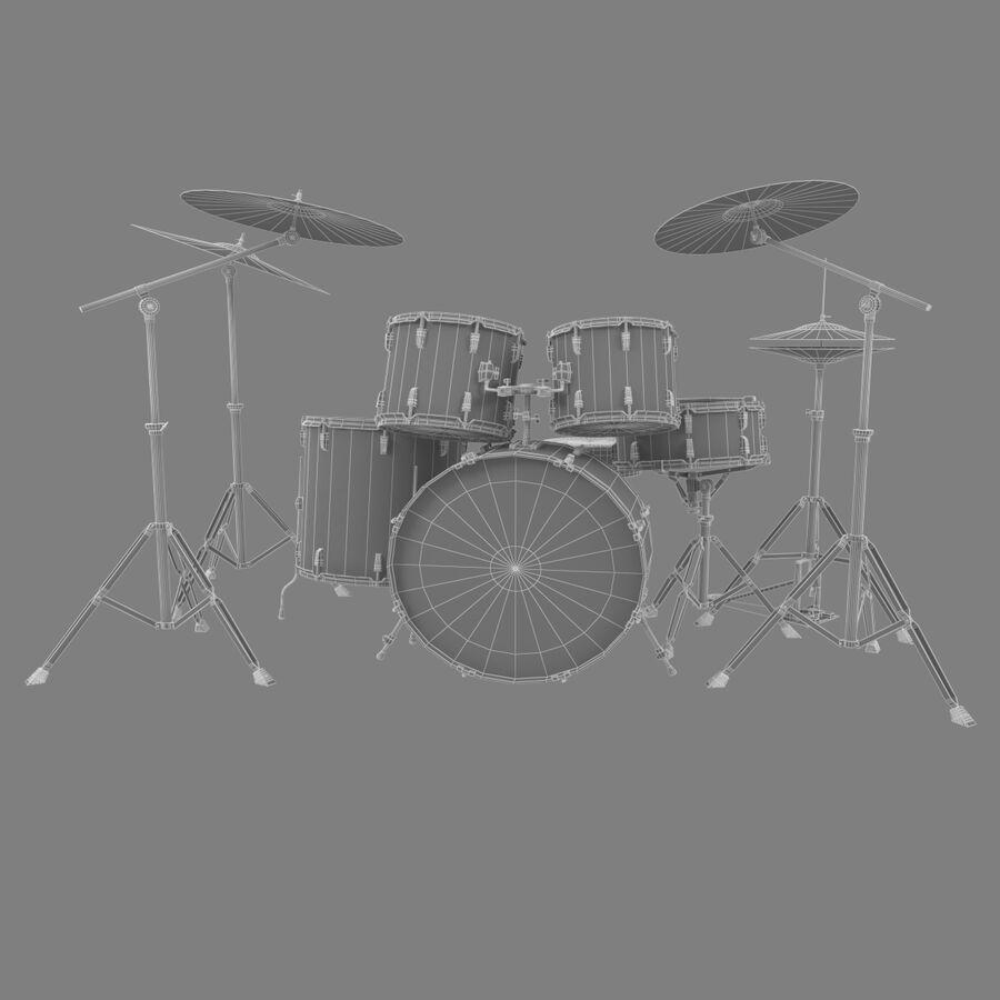 Instrumentsamling royalty-free 3d model - Preview no. 21