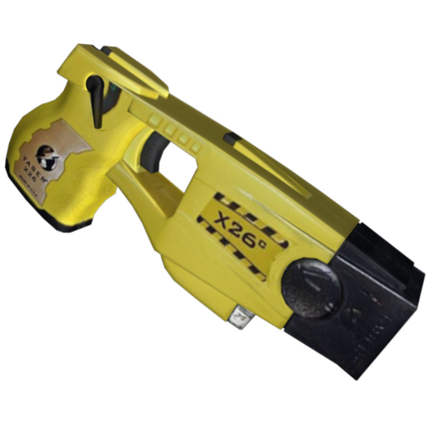 Taser Gun royalty-free 3d model - Preview no. 2