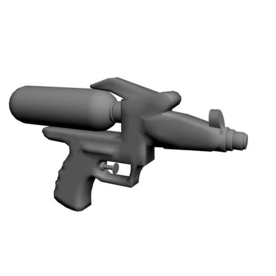 Vattenpistol royalty-free 3d model - Preview no. 1