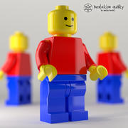Lego Generic Figure 3d model