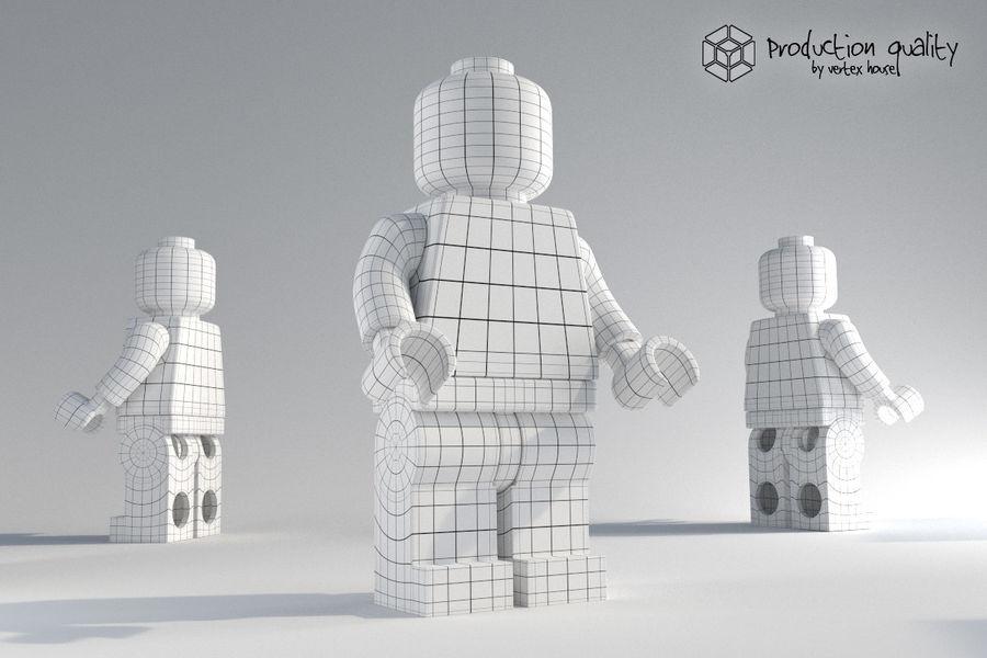 레고 일반 그림 royalty-free 3d model - Preview no. 6