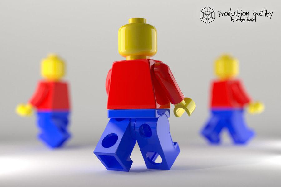 레고 일반 그림 royalty-free 3d model - Preview no. 1