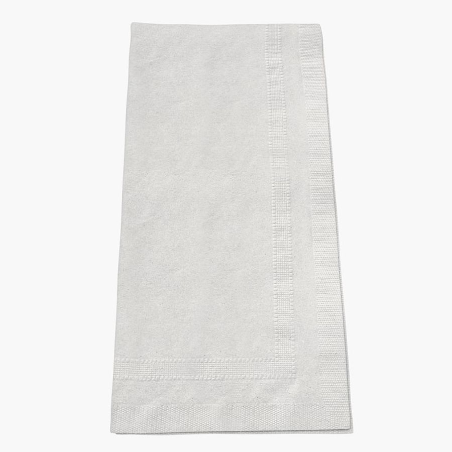 folded napkin royalty-free 3d model - Preview no. 2