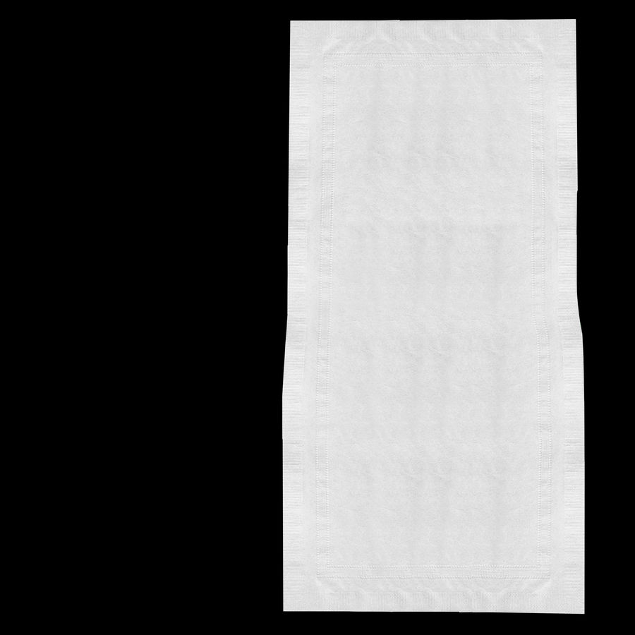 folded napkin royalty-free 3d model - Preview no. 7