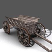 vagón modelo 3d