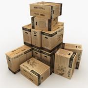 Packing 3d model
