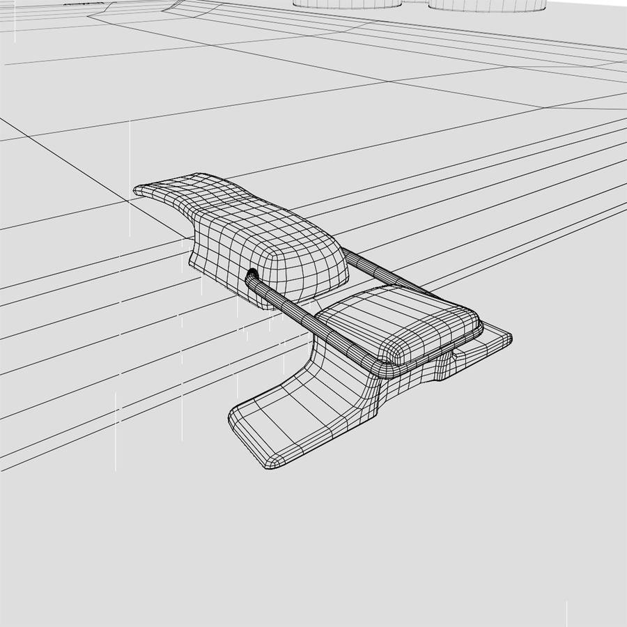 핫도그 장바구니 royalty-free 3d model - Preview no. 12