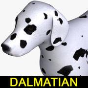 далматинец 3d model