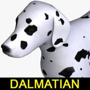 达尔马提亚 3d model