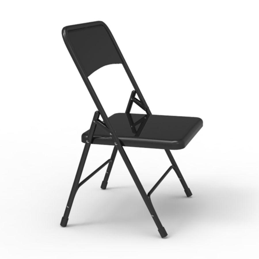 Chaise 3D16objmaxmafbx en pliante métal modèle 80nwkPO