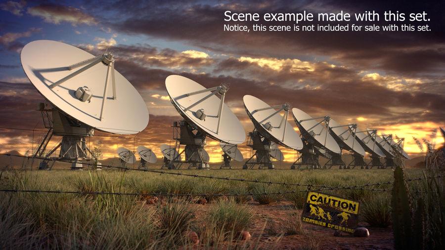 Desert Grass Set royalty-free 3d model - Preview no. 11