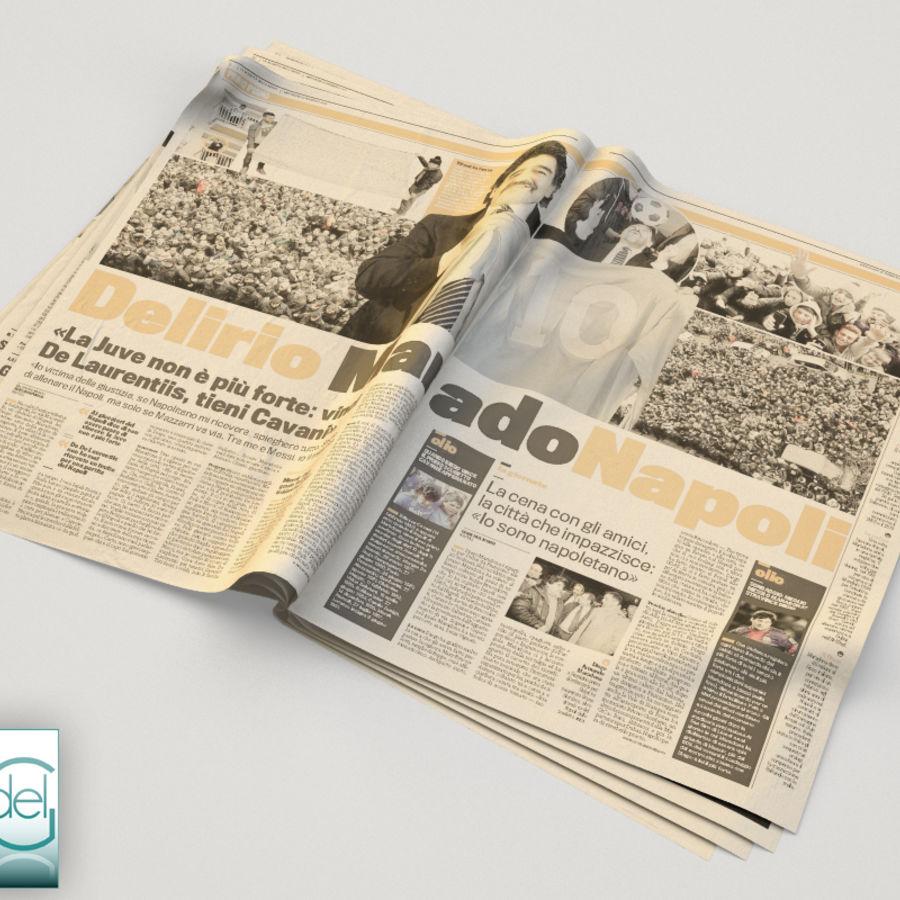 Newspaper Gazzetta dello sport 1 3D Model $24 -  unknown