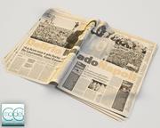 Zeitung Gazzetta dello Sport 1 3d model