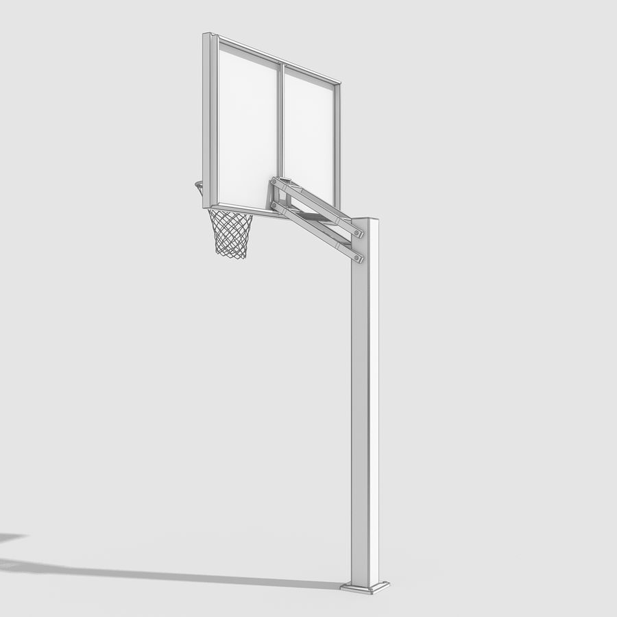 Basketball Hoop royalty-free 3d model - Preview no. 10