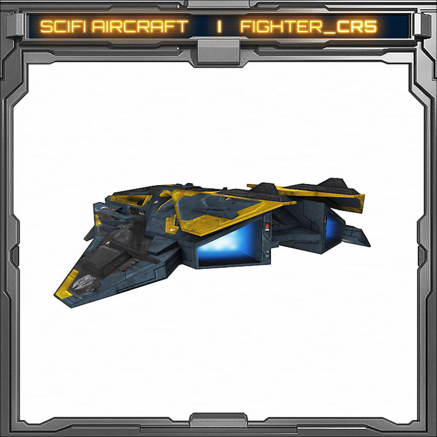 SciFi_CR5 royalty-free 3d model - Preview no. 6