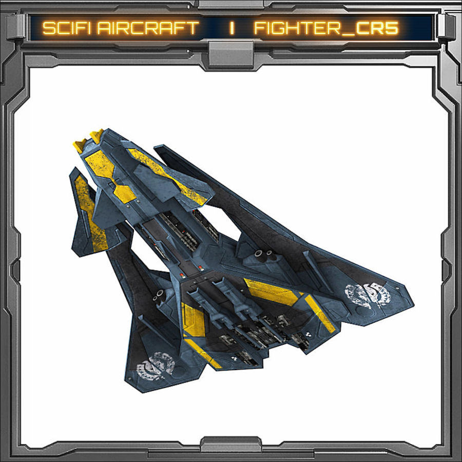 SciFi_CR5 royalty-free 3d model - Preview no. 4