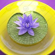 fleur de lotus 3d model