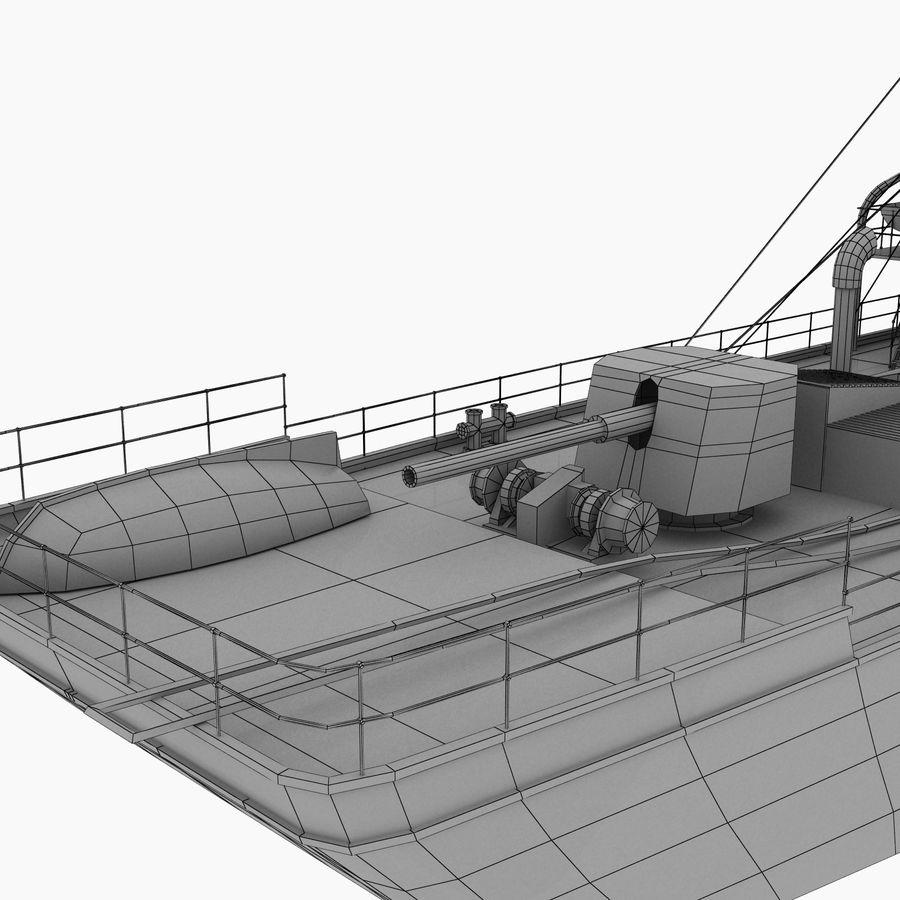 elpidifor-413 rosyjski statek royalty-free 3d model - Preview no. 15