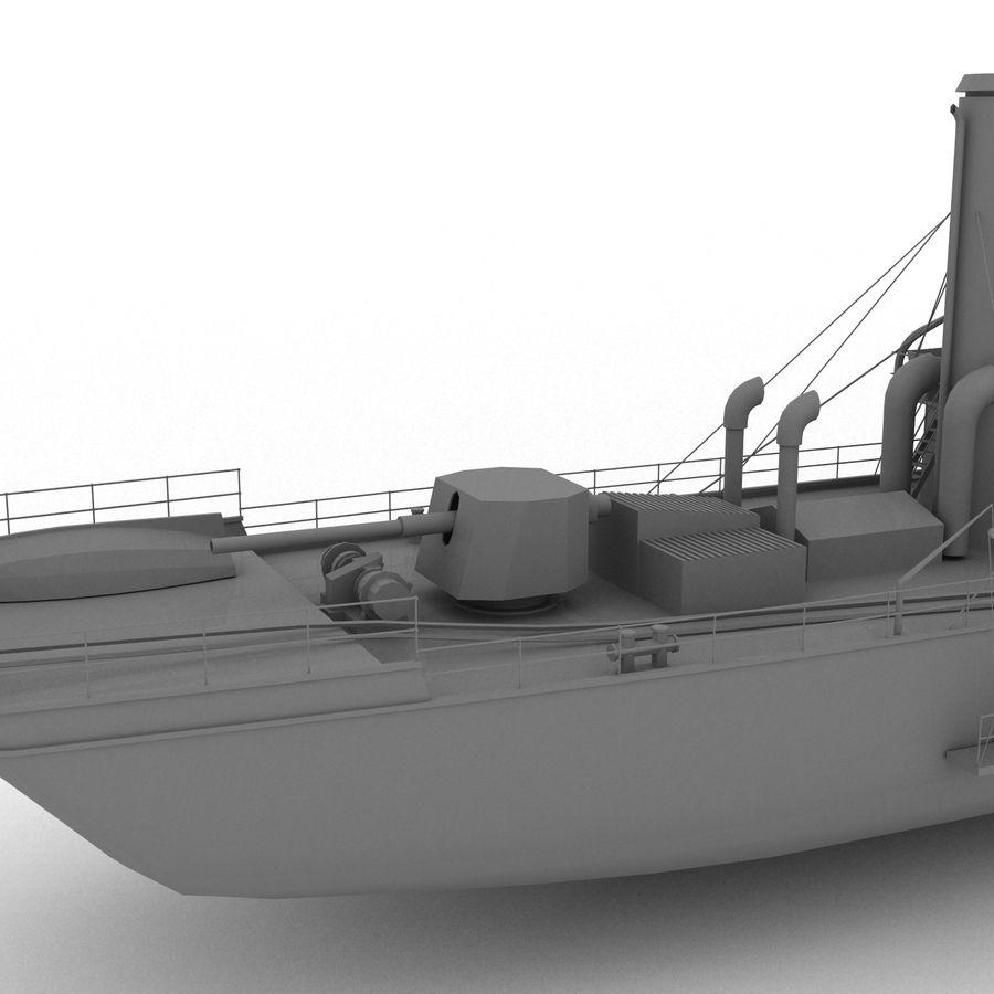 elpidifor-413 rosyjski statek royalty-free 3d model - Preview no. 7