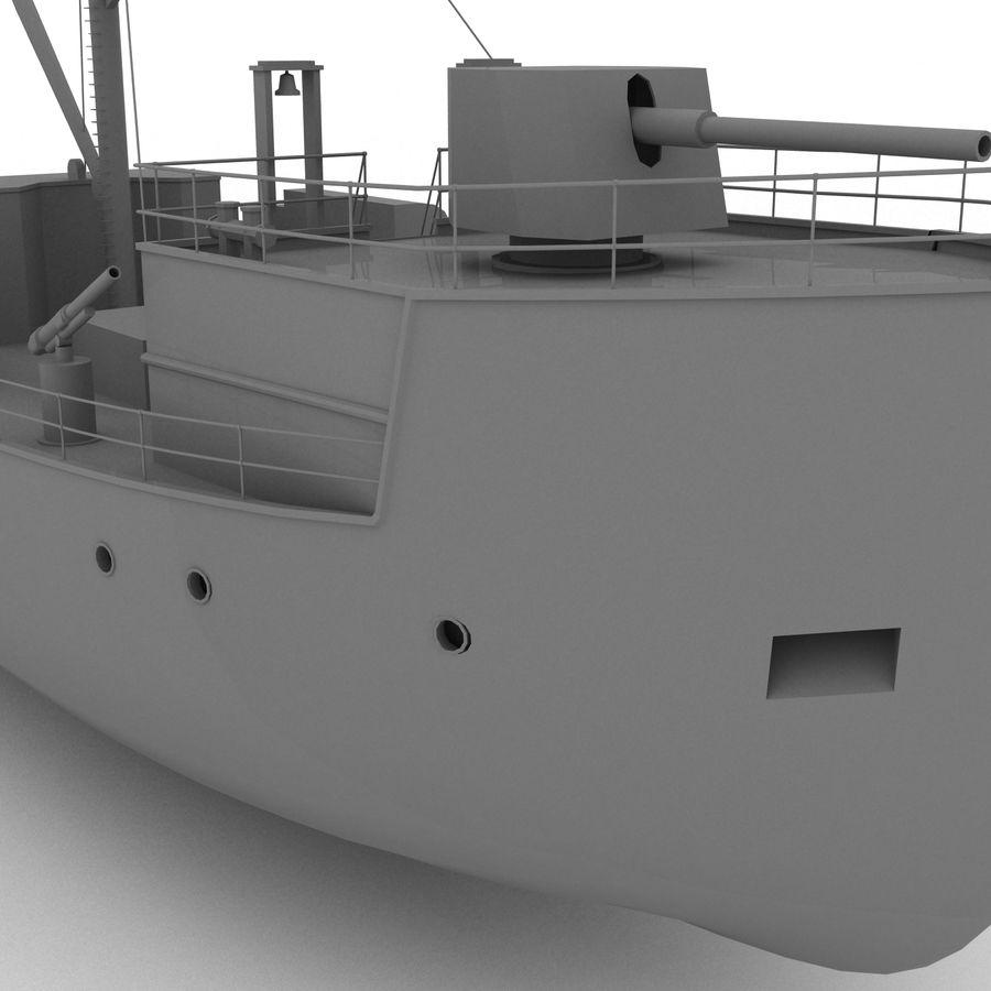 elpidifor-413 rosyjski statek royalty-free 3d model - Preview no. 4