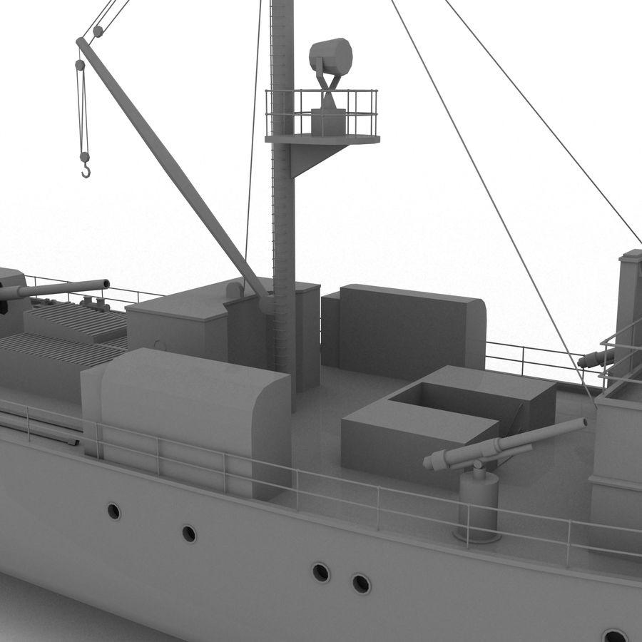 elpidifor-413 rosyjski statek royalty-free 3d model - Preview no. 5