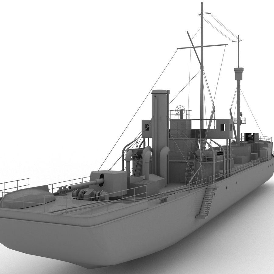 elpidifor-413 rosyjski statek royalty-free 3d model - Preview no. 3