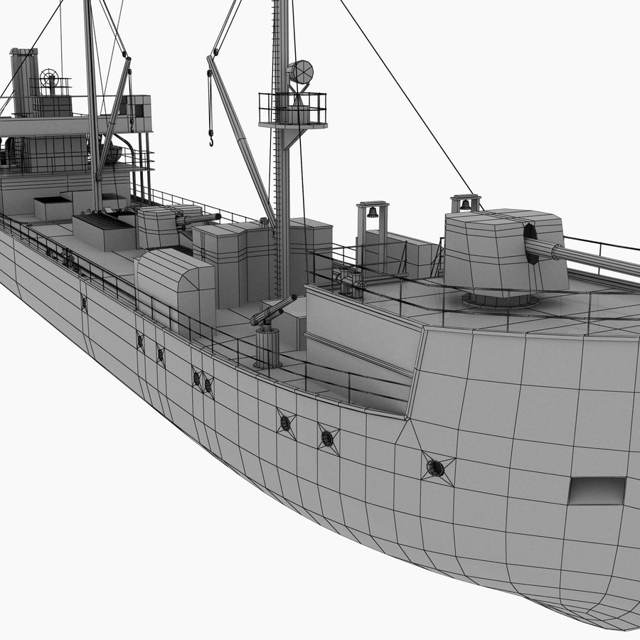 elpidifor-413 rosyjski statek royalty-free 3d model - Preview no. 13