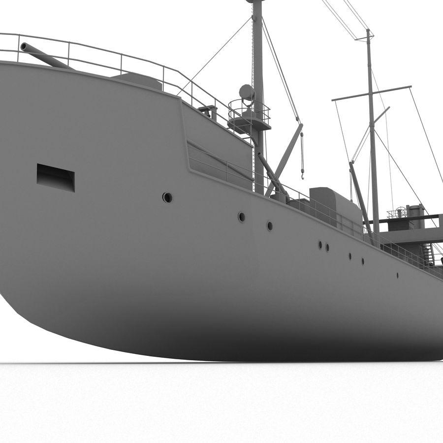 elpidifor-413 rosyjski statek royalty-free 3d model - Preview no. 12