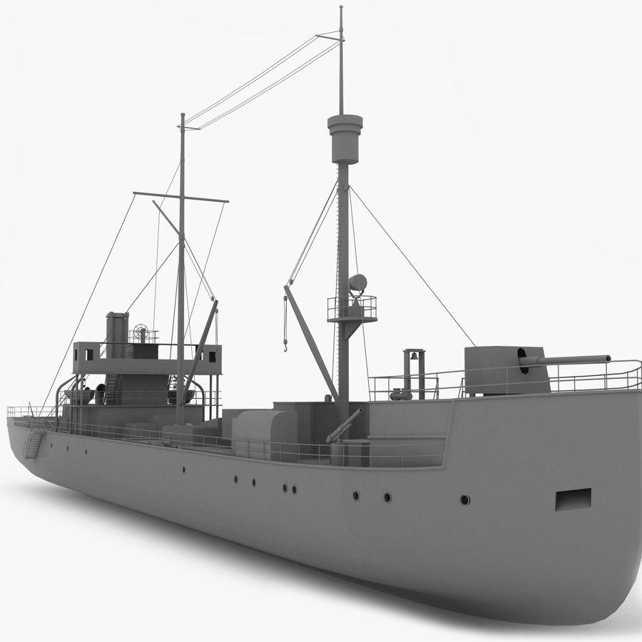 elpidifor-413 rosyjski statek royalty-free 3d model - Preview no. 1