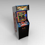 Robotron 아케이드 게임 3d model