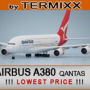 Airbus A380 Qantas 3d model