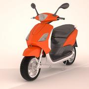 Japanese Scooter 3d model