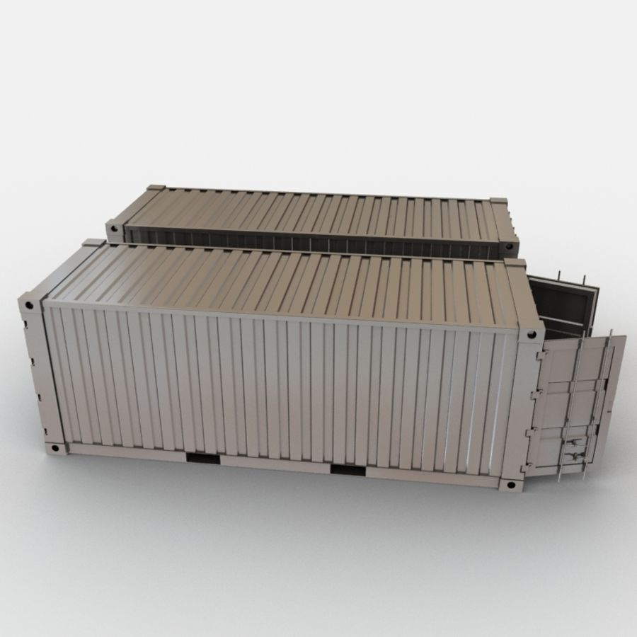 Shipping Container royalty-free 3d model - Preview no. 5
