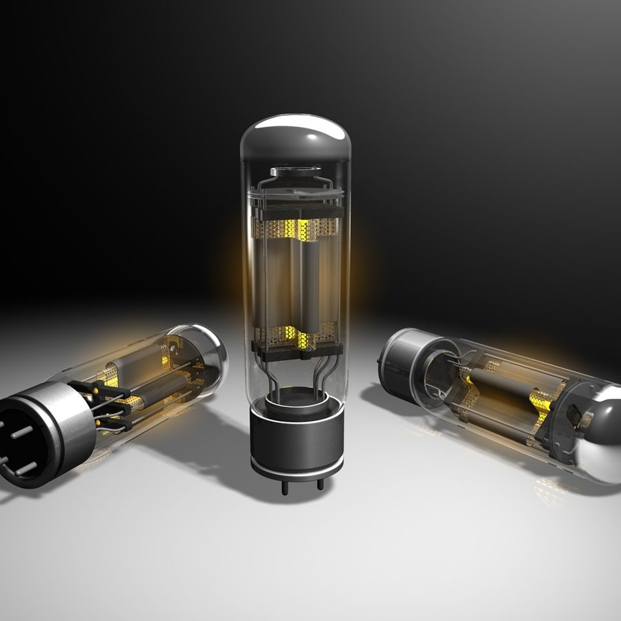 Vacuum Tube royalty-free 3d model - Preview no. 1