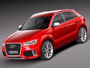 Audi RS Q3 2014 3d model