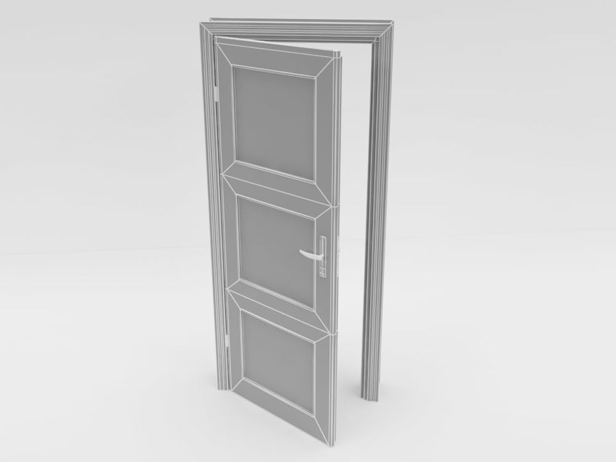Tür, Architektur royalty-free 3d model - Preview no. 5