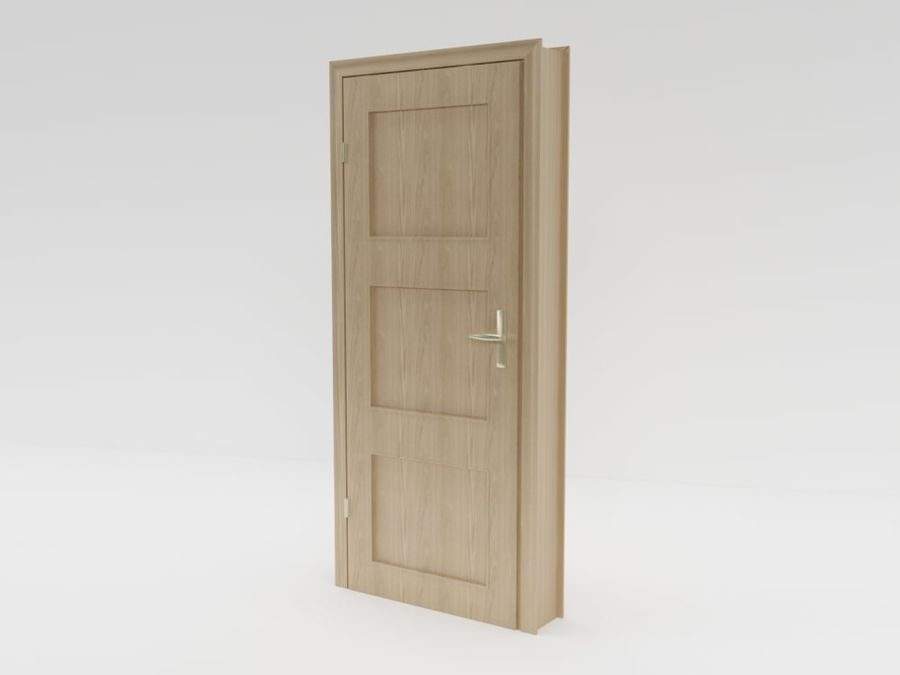 puerta, arquitectura royalty-free modelo 3d - Preview no. 4