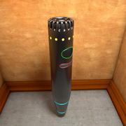 Маленький портативный микрофон 3d model