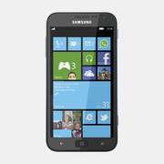 Samsung Ativ S I8750 modelo 3d