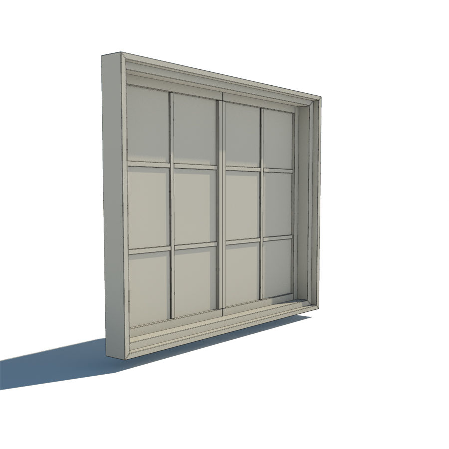 Fenster royalty-free 3d model - Preview no. 4
