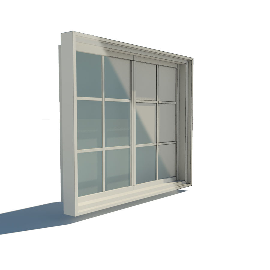 Fenster royalty-free 3d model - Preview no. 3